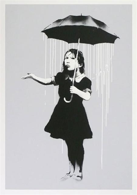Banksy, 'NOLA (White Rain)', 2009, Kings Wood Art