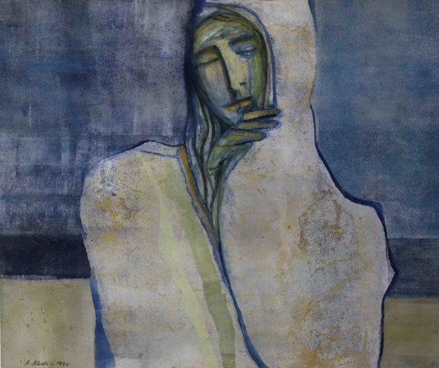, 'Covered Woman,' 1990, Al Ma'mal Foundation for Contemporary Art