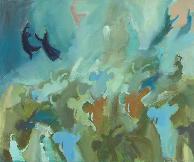 Iwalani Kaluhiokalani, 'Conflicted Allegiance', 2020, Painting, Oil on canvas, Galatea Fine Art
