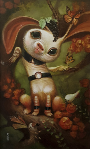 , 'White rabbit,' 2020, Haven Gallery