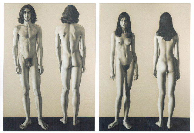 , 'Adam (George) and Eve (Maribel),' 1972, Galería La Cometa