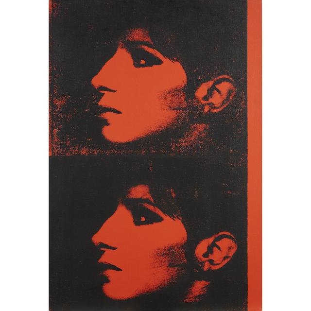 Deborah Kass, '2 Red Barbras (Jewish Jackie Series)', Freeman's