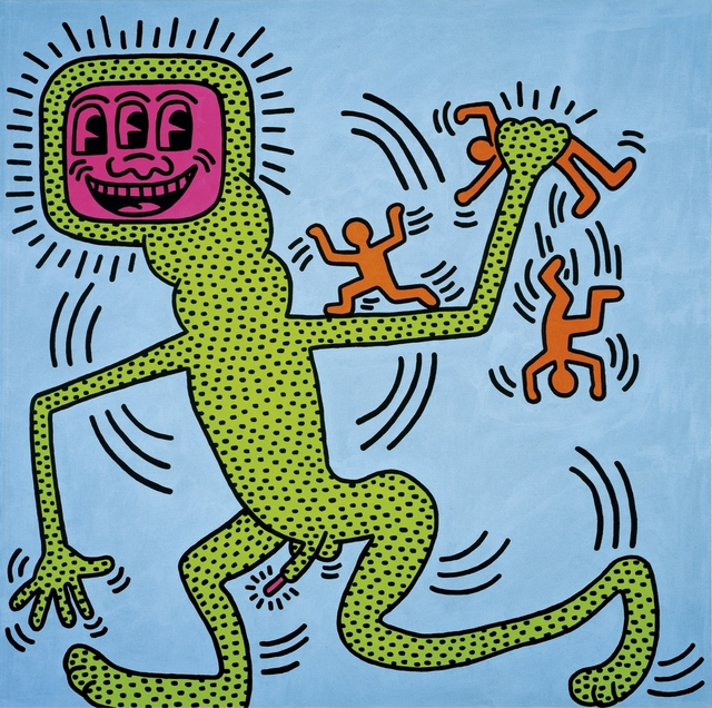 Keith Haring, 'Untitled, 13 April 1984,' 1984, Opera Gallery