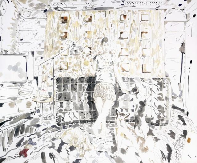 , 'Doodood, Haze, MuiMui and Balltsz,' 2016, Ota Fine Arts