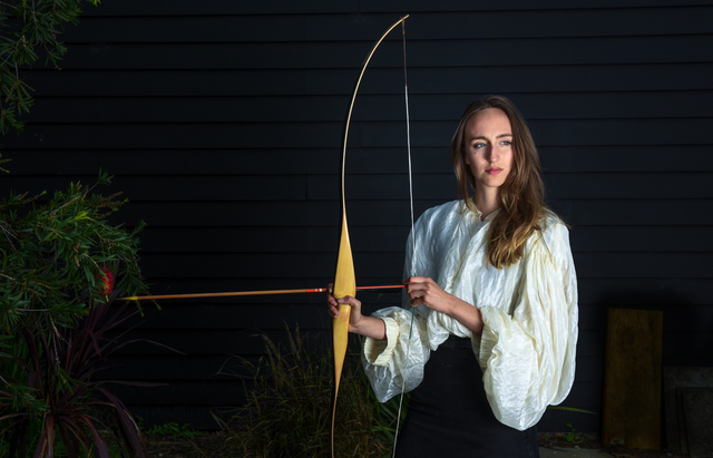 , 'Untitled (Emily with archery bow),' 2017, Sarah Scout Presents