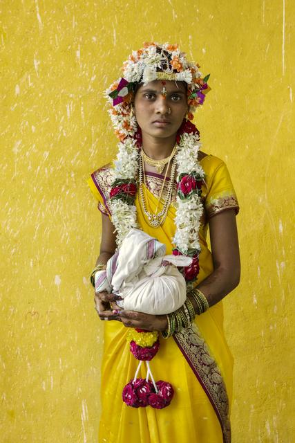, 'LA NOVIA EN EL TEMPLO. KASAPURAM.INDIA,' 2015, Galería Juana de Aizpuru