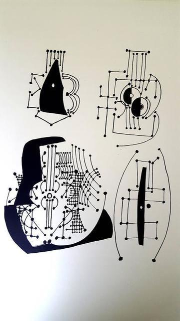 """Pablo Picasso, 'Etching """"Hélène chez Archimède VI"""" after Pablo Picasso', 1955, Galerie Philia"""