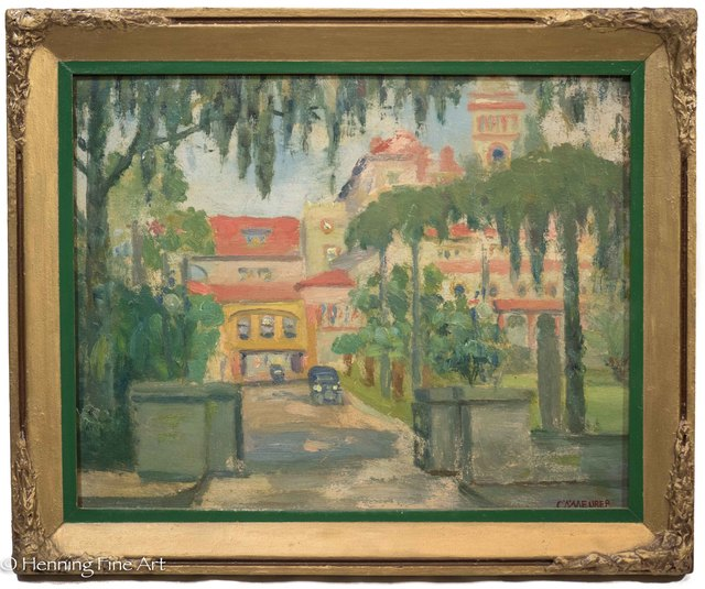Charles Alfred Meurer, 'Hotel Ponce de Leon Hotel, Flagler College, St. Augustine, Florida', 1933, Henning Fine Art