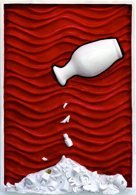 BOB CLYATT, 'Cscape #49  Vase Red ', 2017, Maria Elena Kravetz