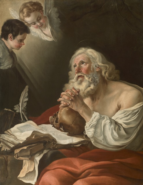 , 'St. Jerome in Prayer,' 1750-1755, Didier Aaron