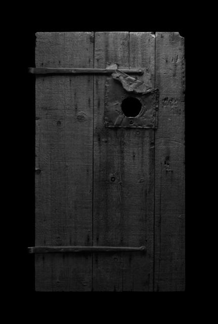 , 'Door with Hole,' 2017, Galerie Michaela Stock