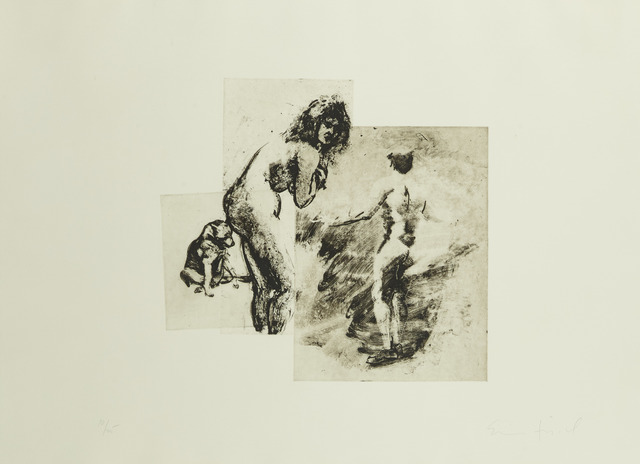 , 'Boy, Woman, Dog, from the portfolio Boy, Woman, Dog,' 1993, Childs Gallery