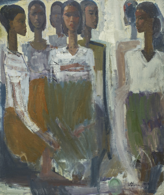 , 'Pillars of Life: Patience ,' 2018, Addis Fine Art
