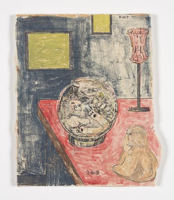 Kevin McNamee-Tweed, 'Cat, Bowl, Buddha', 2019, Steve Turner