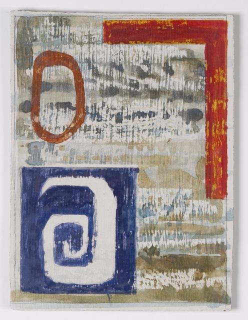 John Piper, 'Design for the North Thames Gas Board glass fibre panels 6', 1962, The Fine Art Society