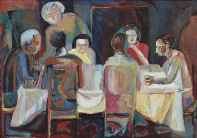 , 'Family Seder,' ca. 1948, Andy Warhol Museum