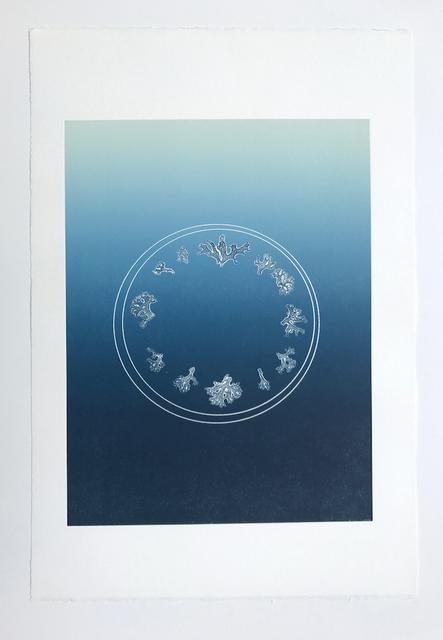 , 'Flora Clock,' 2017, PDX CONTEMPORARY ART