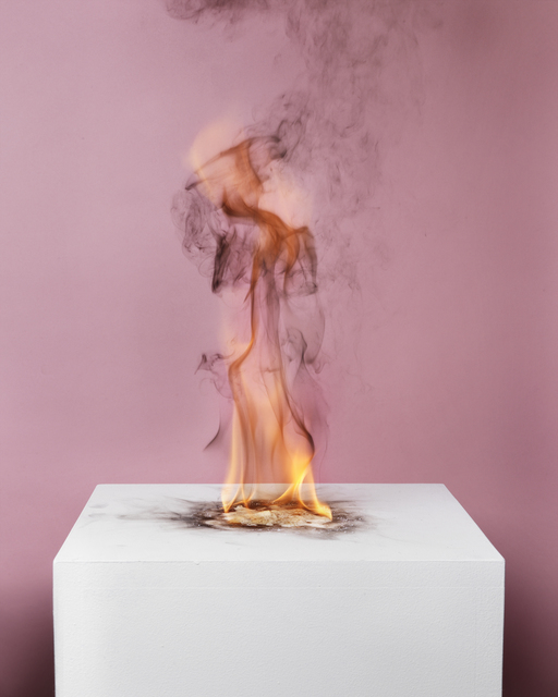 , 'Camphor Flame on Pedestal (0433),' 2010, Nature Morte