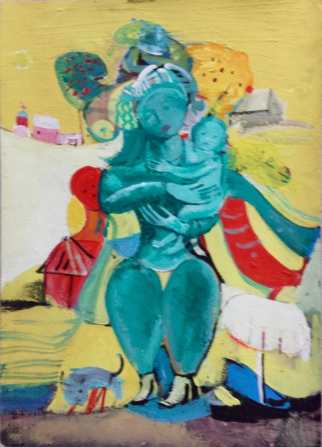 , 'Untitled (woman and child),' 2000, Robert Kananaj Gallery