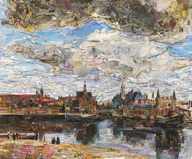 Vik Muniz, 'View of Delft (Postcards from Nowhere)', 2015, Sikkema Jenkins & Co.