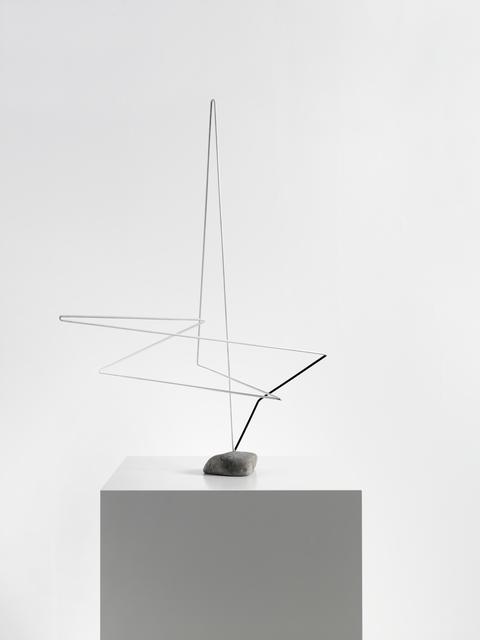 , 'Raumplastik Weiss-Schwarz,' 1954, Dierking