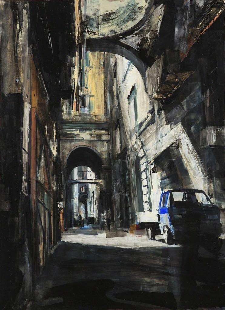 Sean Flood, 'Naples Alley,' 2012, Childs Gallery