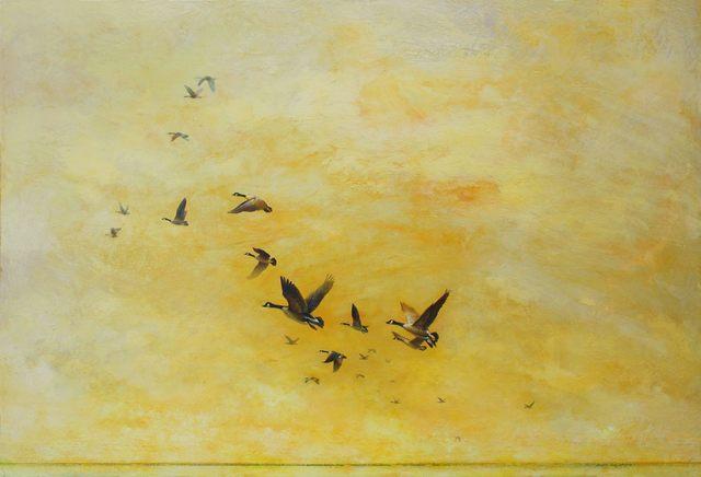 , 'November Sky,' 2013-2015, J GO Gallery