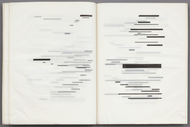 , 'Un Coup de dés jamais n'abolira le hasard (A throw of the dice will never abolish chance),' 1969, The Museum of Modern Art