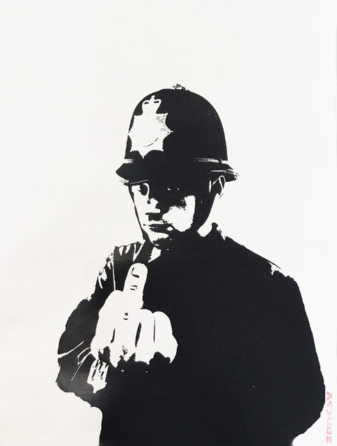 Banksy, 'Rude Copper - Unsigned ', 2002, Hang-Up Gallery