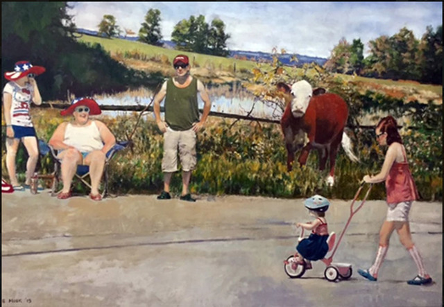 , 'Fourth of July ,' 2015, Bruce Lurie Gallery