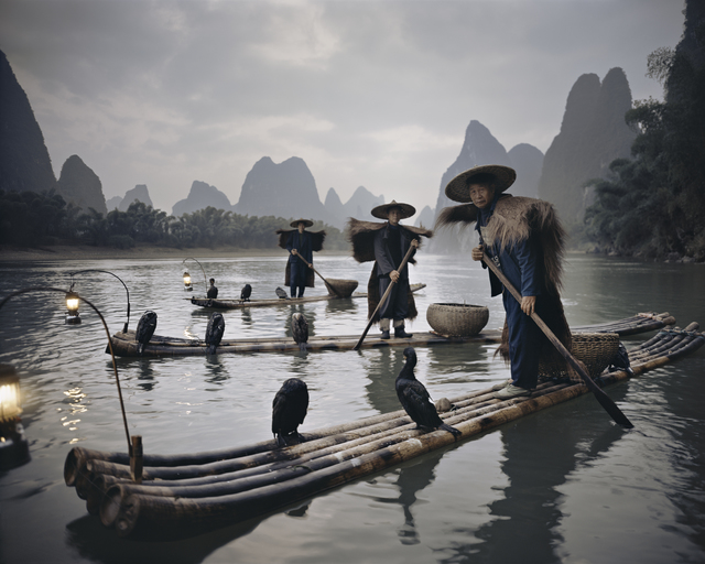 , 'XXII 467 Yangshuo Cormorants, China,' 2005, Atlas Gallery