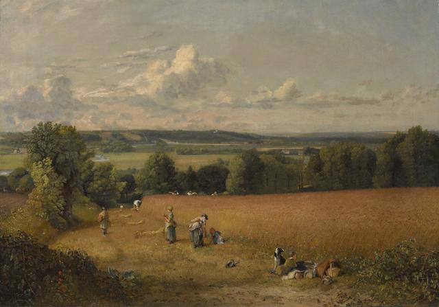 , 'The Wheat Field,' 1816, Clark Art Institute