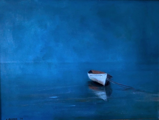 Anne Packard, 'White Dory in Blue', 2003, Galerie Sono