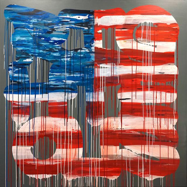 , 'Stars N Stripes,' 2017, Galerie Droste