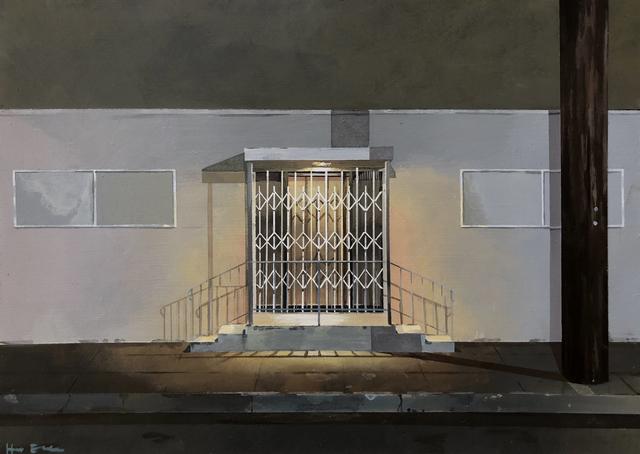 Holly Elander, 'Closed', 2019, Painting, Acrylic on panel, LAUNCH LA