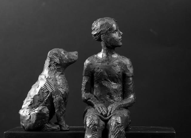 , 'Waiting,' , Woolff Gallery