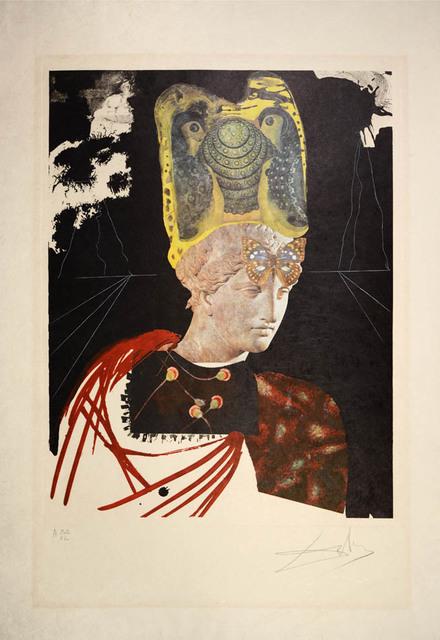 "Salvador Dalí, ' Crazy, Crazy, Crazy Minerva, from ""Memories of Surrealism""', 1971, Shapero Modern"