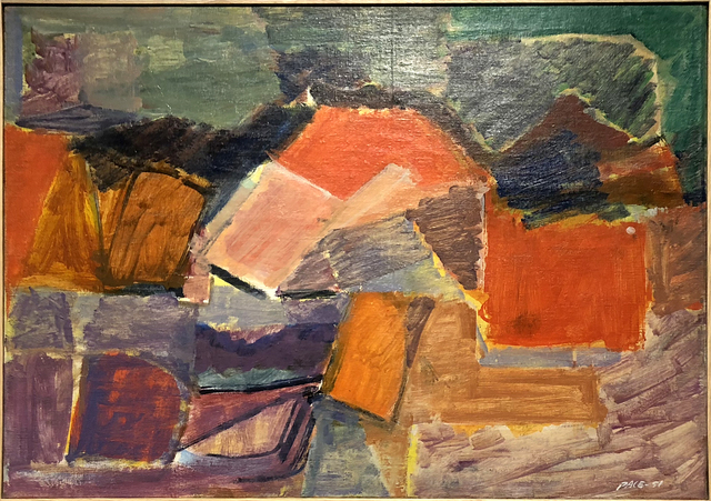 , 'Untitled (51-42),' 1951, Cavalier Galleries