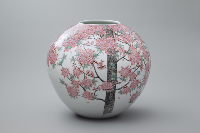 , 'Yae (Double Tree) Cherry Blossoms,' 2018, Onishi Gallery