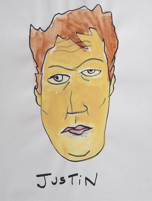 , 'Justin,' 2013-2014, NUNU FINE ART