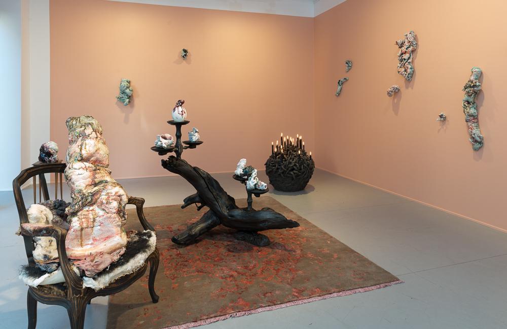 Installation view. Artist: Irene Nordli.