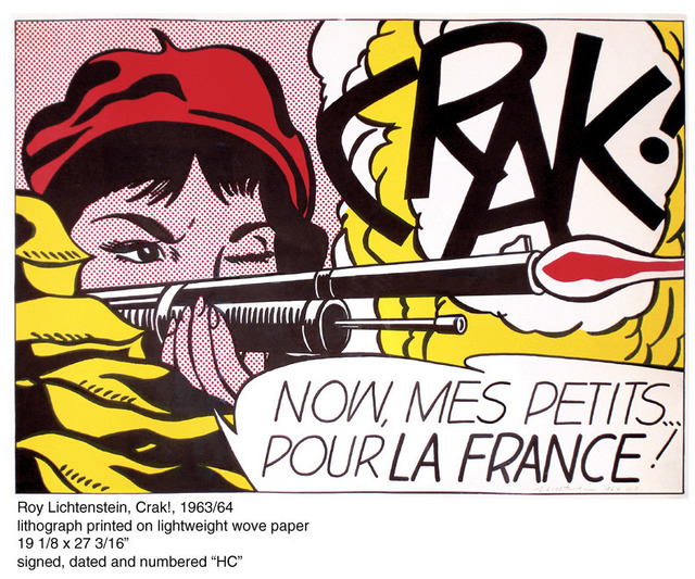 Roy Lichtenstein, 'CRAK!', 1963-1964, Contessa Gallery