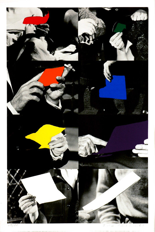 John Baldessari, 'Two Unfinished Letter,' 1992-1993, Brooke Alexander, Inc.