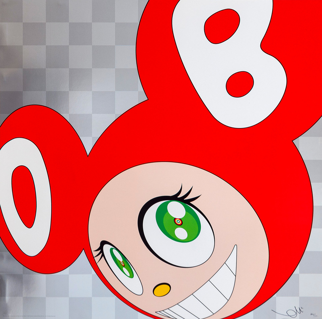 Takashi Murakami, 'And then and then and then and then and then (Red)', 1999, Gagosian