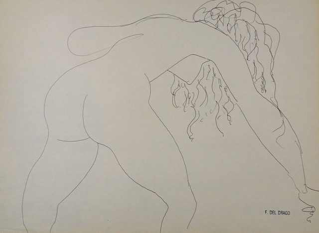 Francesco del Drago, 'Nude ', XX Century, Wallector