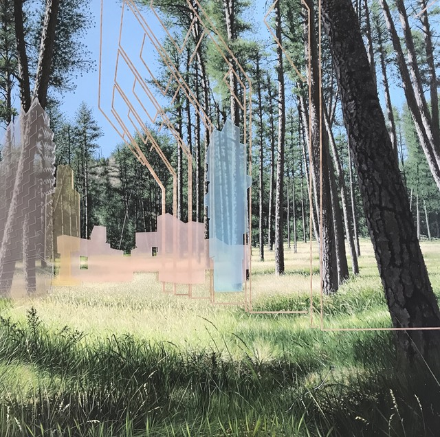 Paul Paiement, 'Nexus - Custer, SD', 2017, Eckert Fine Art