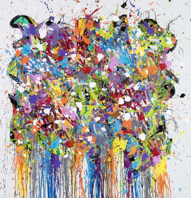 , 'Color Splashes,' 2018, David Pluskwa