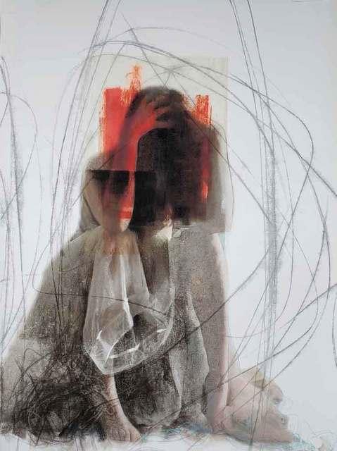 Joann Côté, ' Red hands (Les mains rouges)', 2019, Galerie Blanche