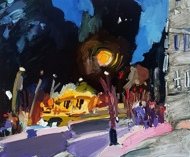 Boaz Noy, 'Night Paris August', 2019, Rosenfeld Gallery