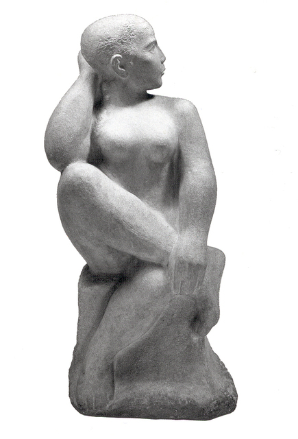 , 'Seated Dancer,' 1950, Bernard Goldberg Fine Art